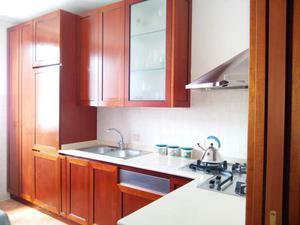 Cucina in ciliegio con penisola tot m circa posot class - Cucina in ciliegio ...