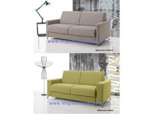 Amalfi divano letto trasformabile materasso alto posot class - Divano letto materasso alto ...