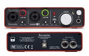 Focusrite Scarlett 2i2 2nd gen scheda audio