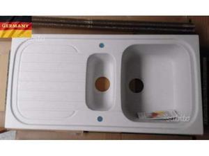 Lavello da incasso 100x50 (CRISTALITE BIANCO ALASKA)