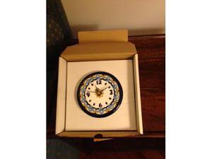 Orologio da muro in ceramica