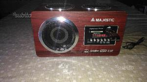 RadioFM Mp3/Sd Majestic AH 173