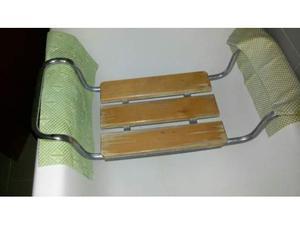Sedile in legno vasca bagno