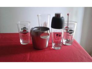 Set shaker e accessori da cocktail vintage
