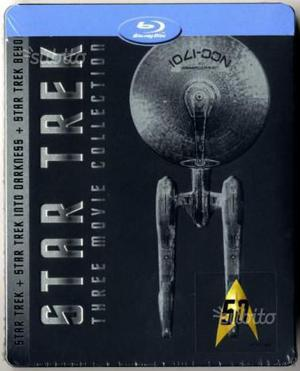Star Trek - Three Movie Collection / STEELBOOK