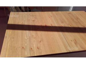 Tavolo legno massello misure  x 95