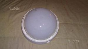 2 plafoniere in vetro ben tenute