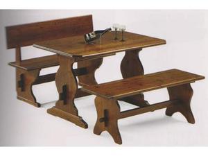 Arredo Pub prezzo fabbrica: Set Panche e Tavoli cod 089