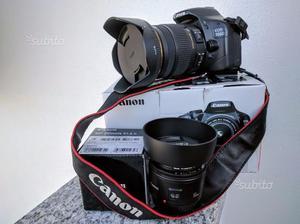 Canon 550D + SIGMA  f2.8 + Canon 50 f1.8II
