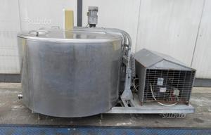 Cella frigorifera da latte usata da 650 litri