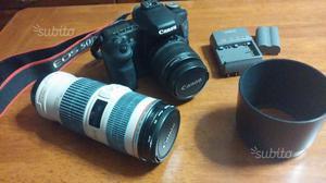 Fotocamera reflex Canon più Obiettivi