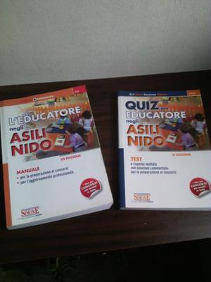 L'EDUCATORE NEGLI ASILI NIDO, Edizioni Simone