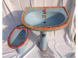 Lavabo, bidet, tazze WC, accessori bagno vintage NUOVI