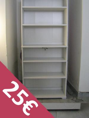 Ikea libreria borgsj marrone con 2 ante posot class - Libreria con ante ikea ...