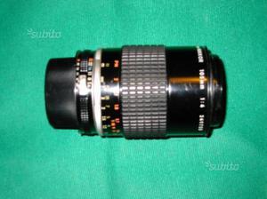 Obbiettivo micro nikkor 105mm