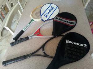 Racchette da Tennis Vintage anni 70 anni 90