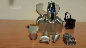 Rasoio elettrico 4 accessori