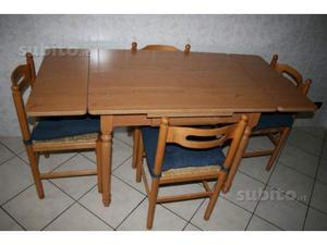 Tavolo da cucina estensibile 4 sedie posot class for Tavolo cucina 4 posti