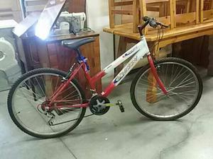 Bicicletta uomo shadon  forata