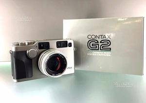 CONTAX G2 con 45mm f:2 Carl Zeiss Planar NUOVA
