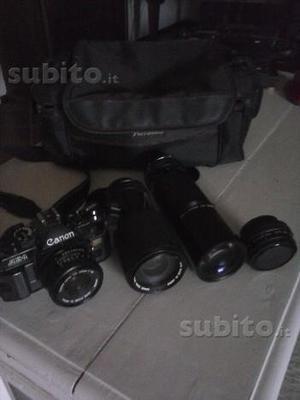 Canon AE1 program con obiettivi canon