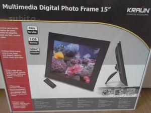 """Cornice digitale 15"""""""