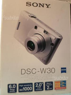 Fotocamera digitale Sony dsc-w30