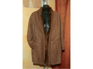 Giacca giaccone donna in vera pelle montone Shearling