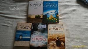Libri di Nicholas spark e Mary higgins clark