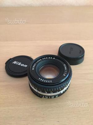 Obbietivo Nikon 50mm f/1.8 Series E