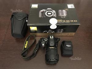 Reflex Nikon D + obiettivo nikon