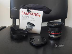Samyang 12mm fuji x fujifilm 12