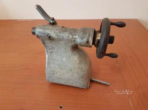 Antico Tornio legno 1 CM scorrevole contropunta