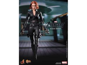 Hot Toys Sideshow 1/6 Black Widow Avengers nuova