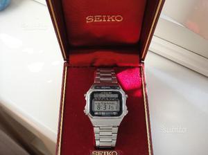 SEIKO lcd orologio vintage solare