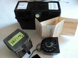 Telefono da campo tedesco in bachelite (')