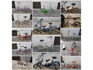 Bici pieghevole disponibile con diversi colori