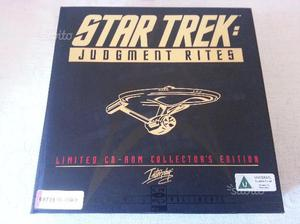 Cofanetto Limited Edition STAR TREK JUDMENT RITES