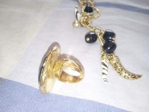 Collana e anello Roberto Cavalli