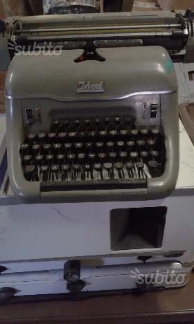 IDEAL macchina da scrivere vintage