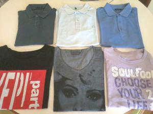 Polo e T Shirt