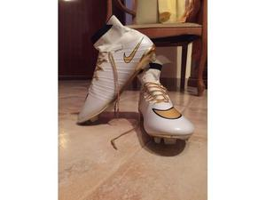 Scarpe da Calcio Nike Mercurial Superfly bianco e oro taglia