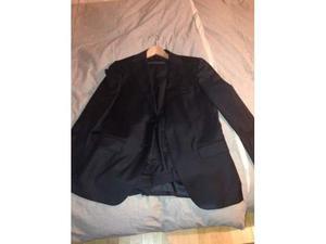 Vestito completo uomo palladio nero taglia 48