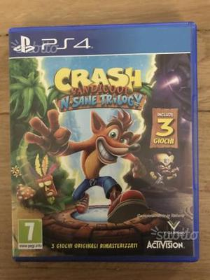 CRASH BANDICOOT N'SANE TRILOGY PS4 Playstation 4