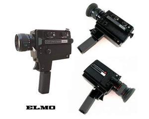 Cinepresa Elmo Super 8 Sound 650S Made in Japan