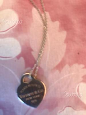 Collana Tiffany originale,con cuore Tiffany