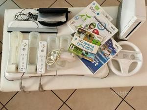 Console Nintendo Wii con giochi e accessori