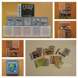 Console Nintendo game boy DMG-O1 & giochi