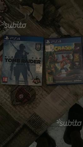 Crash bandicot è rise of tomb raider