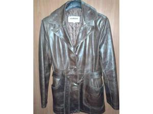 Giacca giaccone in pelle Combipel originale, tg. S